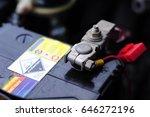 battery pole | Shutterstock . vector #646272196