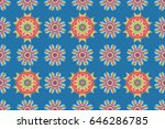 modern raster template for... | Shutterstock . vector #646286785