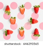 seamless pattern with... | Shutterstock . vector #646293565