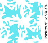 exotic seamless pattern with... | Shutterstock .eps vector #646303576