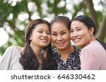 female generation  grandmother  ... | Shutterstock . vector #646330462