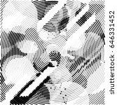 abstract vector background dot... | Shutterstock .eps vector #646331452