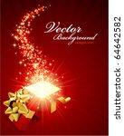 christmas vector background... | Shutterstock .eps vector #64642582