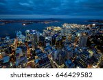 Auckland Night Time View From...