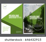 abstract vector modern flyers...   Shutterstock .eps vector #646432915