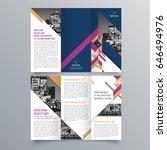 brochure design  brochure... | Shutterstock .eps vector #646494976