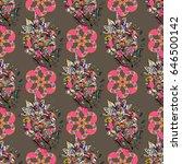 varicolored seamless... | Shutterstock . vector #646500142