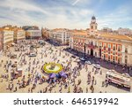 madrid  spain   may 2017  the... | Shutterstock . vector #646519942