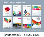 abstract vector business... | Shutterstock .eps vector #646531528