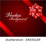 bow vector background   Shutterstock .eps vector #64656169