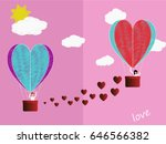 beautiful love story of a guy... | Shutterstock .eps vector #646566382