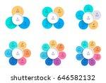business infographics. pie... | Shutterstock .eps vector #646582132
