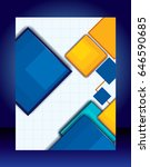 abstract business background.... | Shutterstock .eps vector #646590685