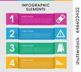 modern accident infographic... | Shutterstock .eps vector #646603432