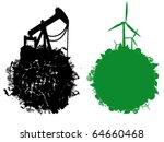 eco illustration | Shutterstock .eps vector #64660468