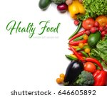 Concept Of Healthy Food. Fresh...