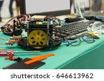 creating robot for integrated... | Shutterstock . vector #646613962