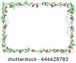 flower border | Shutterstock .eps vector #646628782
