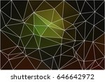 green brown yellow black... | Shutterstock .eps vector #646642972