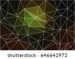 green brown yellow black... | Shutterstock .eps vector #646642972