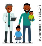 caring for the health of the... | Shutterstock .eps vector #646651246