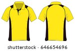 polo shirt design | Shutterstock .eps vector #646654696