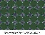 raster illustration. abstract... | Shutterstock . vector #646703626
