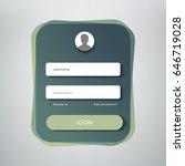 creative login form design