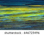colorful glitched background.... | Shutterstock .eps vector #646725496