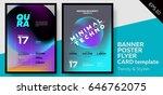 music covers for summer... | Shutterstock .eps vector #646762075
