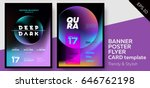 music covers for summer... | Shutterstock .eps vector #646762198