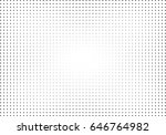abstract halftone dotted... | Shutterstock .eps vector #646764982