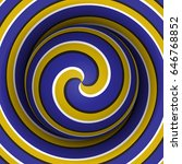 optical motion illusion... | Shutterstock .eps vector #646768852
