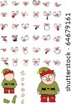 goblin cartoon set in vector... | Shutterstock .eps vector #64679161