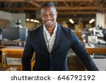 charming successful smiling... | Shutterstock . vector #646792192