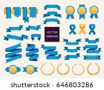 vector collection of decorative ... | Shutterstock .eps vector #646803286