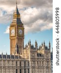The Big Ben And Houses Of...