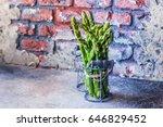 food background. healthy vegan... | Shutterstock . vector #646829452