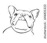 dog vector breed cute pet... | Shutterstock .eps vector #646831222