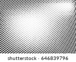 abstract halftone dotted grunge ... | Shutterstock .eps vector #646839796