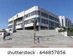 bratislava  slovakia. may 2017. ... | Shutterstock . vector #646857856