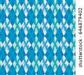 seamless brushpen doodle... | Shutterstock .eps vector #646879402