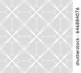 art deco seamless background. | Shutterstock .eps vector #646884076