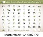 business management  training ... | Shutterstock .eps vector #646887772