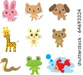 animal doodle | Shutterstock .eps vector #64693324
