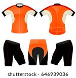 t shirt sports cycling vest... | Shutterstock .eps vector #646939036