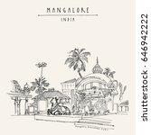 mangalore  karnataka  india.... | Shutterstock . vector #646942222