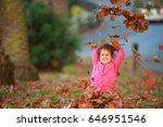 outdoor portrait of young happy ... | Shutterstock . vector #646951546
