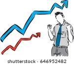 happy businessman vector...   Shutterstock .eps vector #646952482