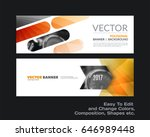 Abstract Vector Set Of Modern...